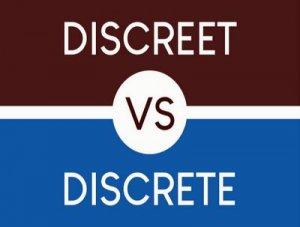 Discrete, Discreet - перевод?
