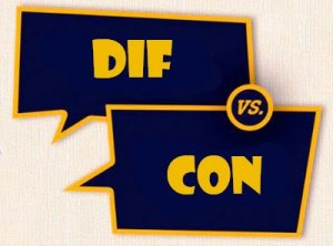 Dif, Con - перевод?