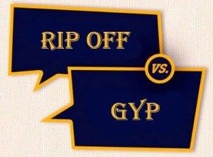 Gyp, Rip off - перевод?