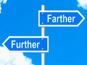 Further, Farther - перевод?