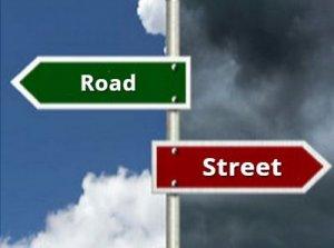 Street, Road - перевод?