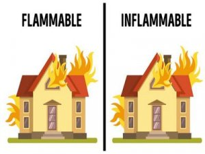 Inflammable, Flammable - перевод?