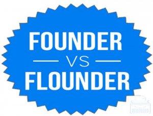 Founder, Flounder - перевод?