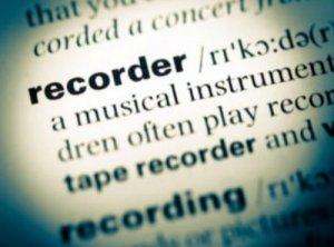 Recorder - перевод?