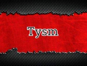 Tysm - расшифровка?