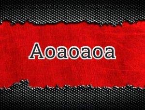 Аоаоаоа - что значит?