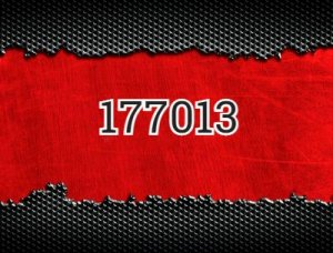 177013 - что значит?