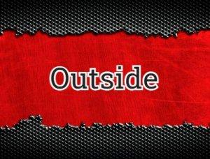 Outside - что значит?