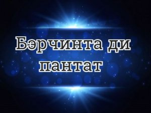 Бэрчинта ди пантат - перевод?