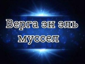 Верга эн эль муссел - перевод?