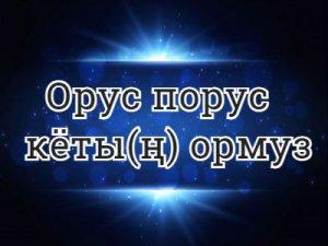 Орус порус кёты(ң) тормуз - перевод?