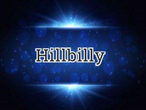 Hillbilly - что значит?