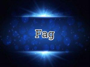 Fag - что значит?