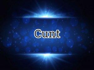 Cunt - что значит?