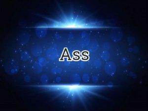 Ass - что значит?