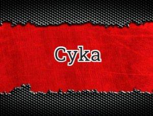 Cyka - что значит?