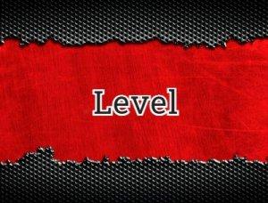 Level - что значит?