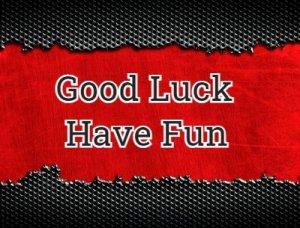 Good Luck Have Fun - что значит?