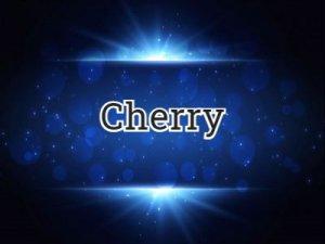 Cherry - перевод?