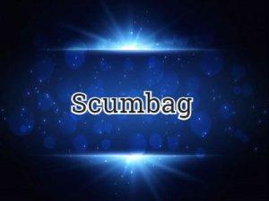 Scumbag - перевод?