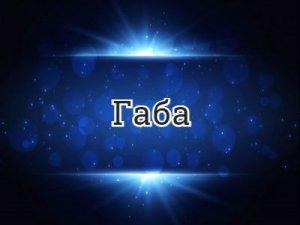 Габа - перевод?