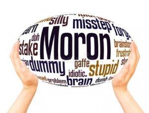 Moron - перевод