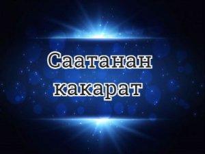 Саатанан какарат - перевод?