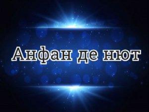 Анфан де нют - перевод?