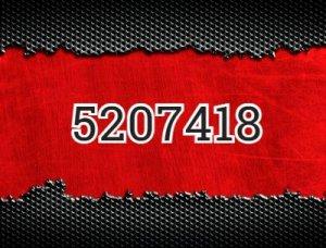 5207418 - что значит?