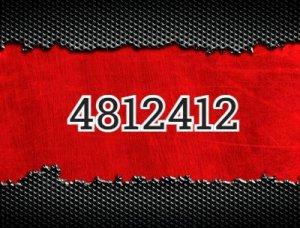 4812412 - что значит?