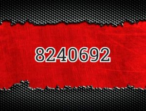 8240692 - что значит?