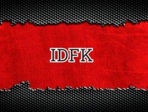 IDFK - что значит?